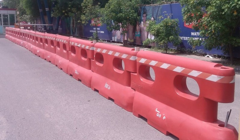Euro Road Safety Barrier full
