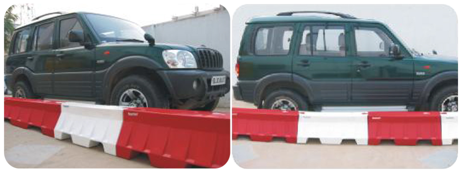 MINI ROAD SAFETY BARRIER
