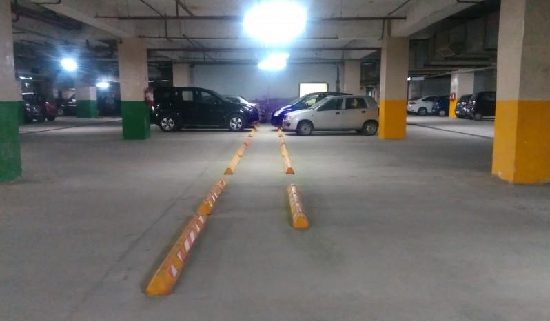 Reinforced Polymer Parking Block full