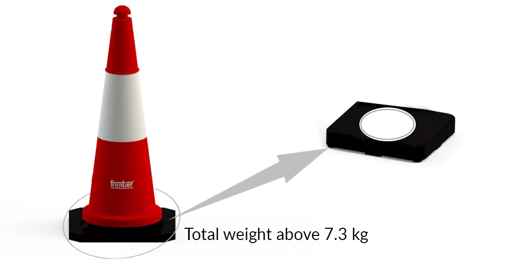 Traffic Cone 1 Meter Tall