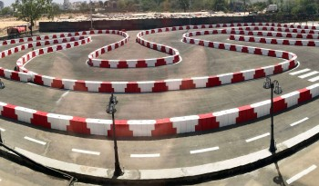 Road Safety Kart Barriers full