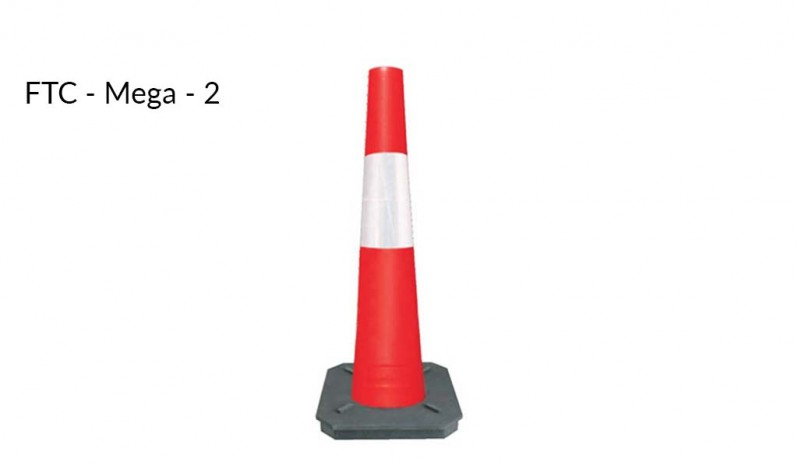 1 Meter tall cones full